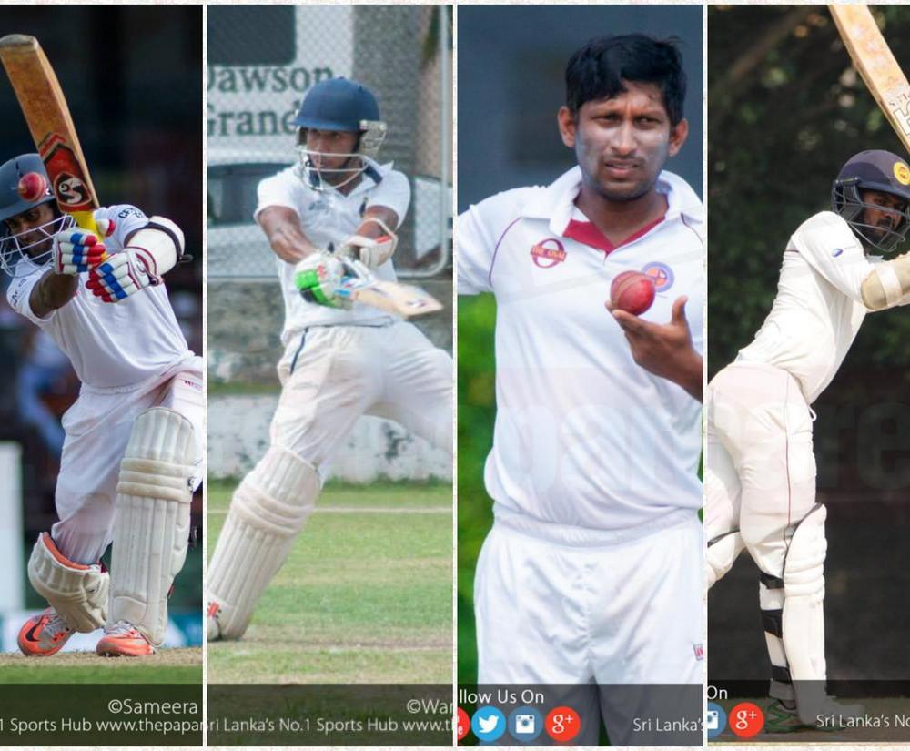 Kaushal scores 211; Sadeera, Tharanga and Jeewan slam tons
