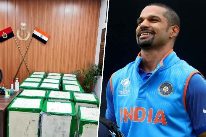 Shikhar Dhawan donated oxygen concentrators
