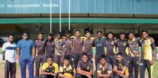 DS Senanayake Schools Cricket Team 2017