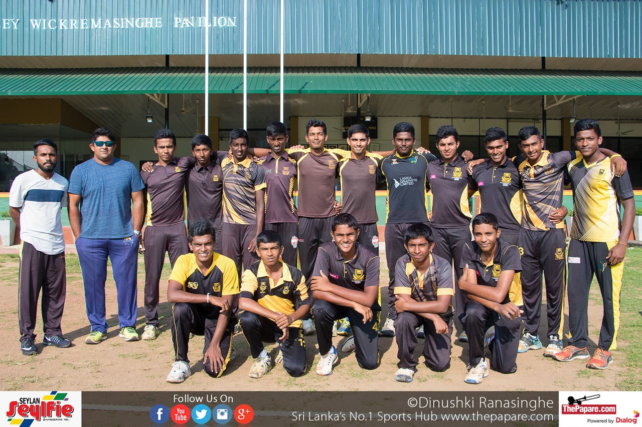DS Senanayake Schools Cricket Team 2017