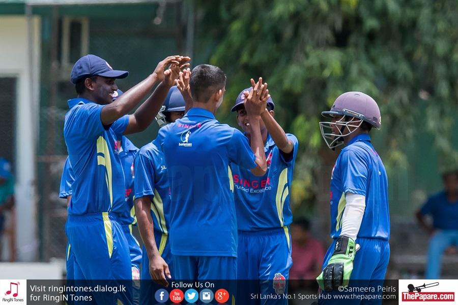U17 Schools Cricket Semi Royal v St. Anthony report