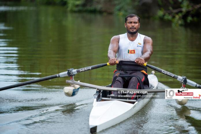 Mahesh Jayakodi Paralympic athlete