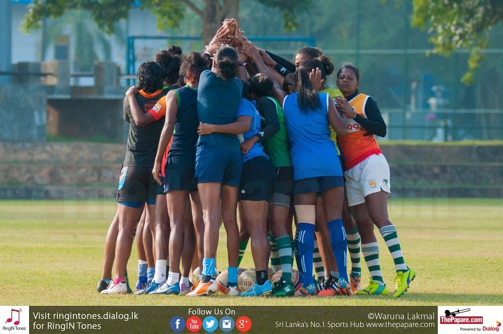 Indian threat for Sri Lanka women's team