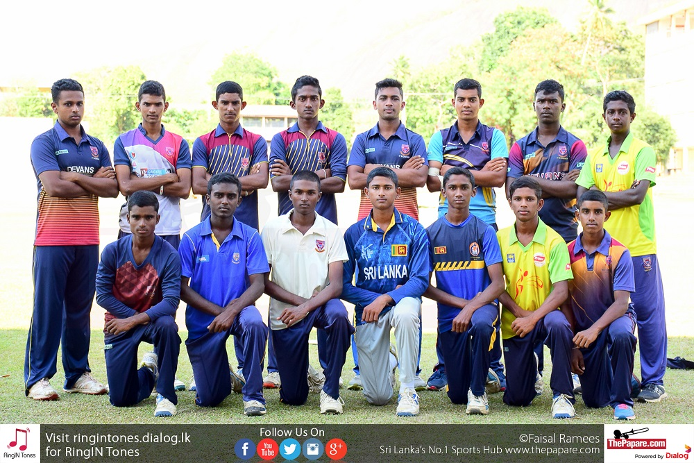 Maliyadeva College Cricket Team 2018