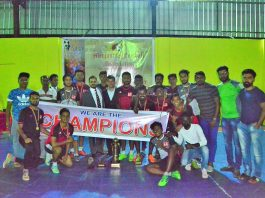 LB Finance down JKH to win Mercantile Futsal