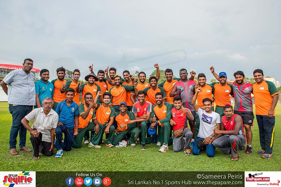 SLC Inter District Tournament Final Teams Colombo Vs Kegalle
