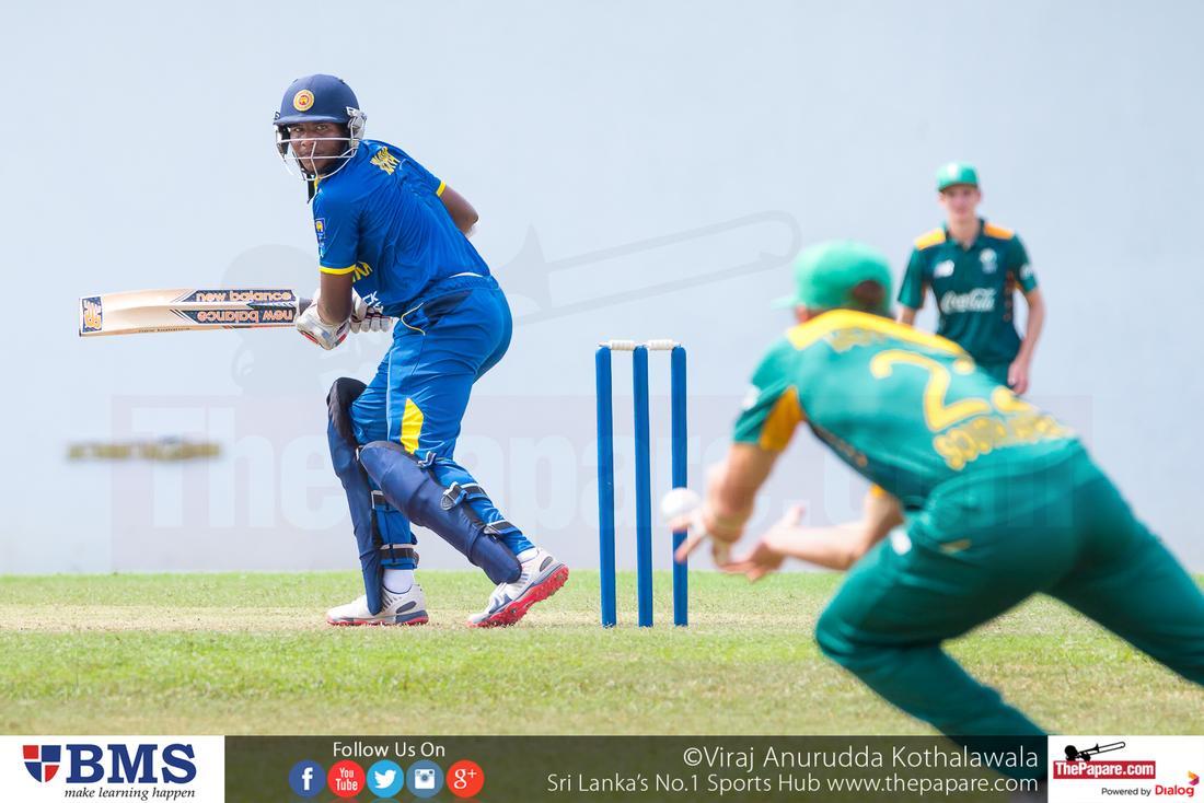 SL U19 vs SA U19s - 1st Youth ODI