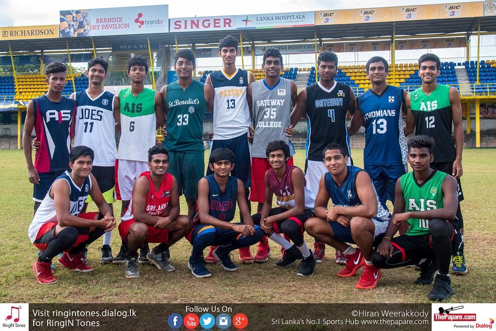 Sri Lanka Youth Basketball Team 2018   U-18 SABA 2018