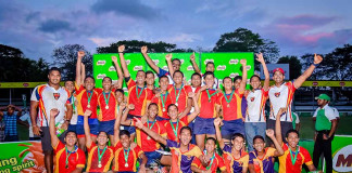 Trinity crowned the U16 10 aside champs