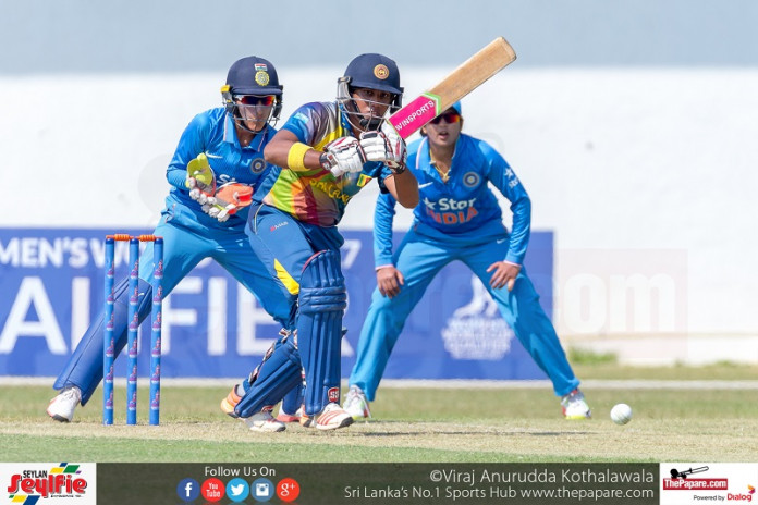Women's Cricket Sri Lanka v India Qualifier