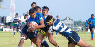 Last Minute try by Dinesh sealed the Deal for Airforce