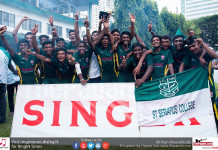 St. Servatius' College crowned U17 Champions