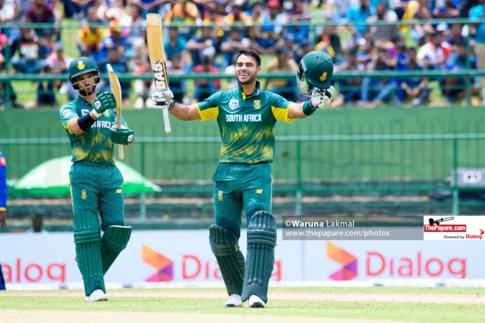 Reeza Hendricks became the 14th batsman and 3rd South African to score a hundred on ODI debut.