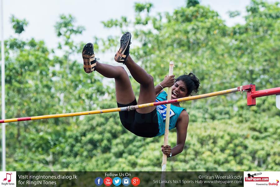 95th National athletics championship Anith broke a record
