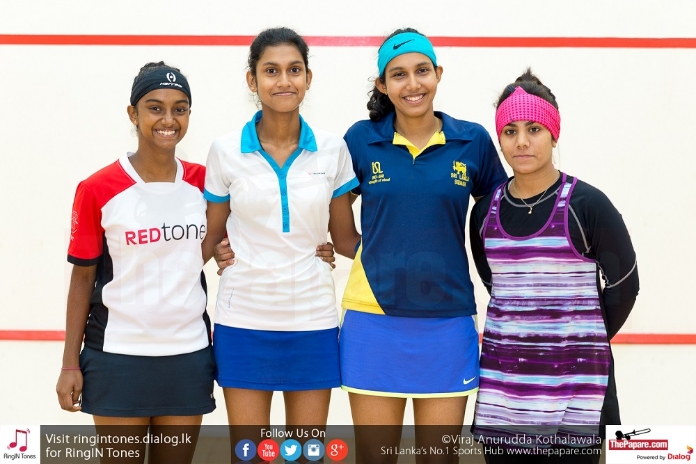 National Squash Team – SAG 2016