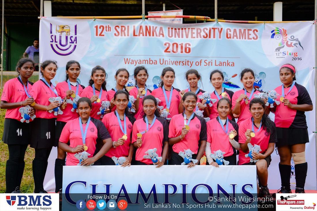 SLUG Hockey Women's Champions