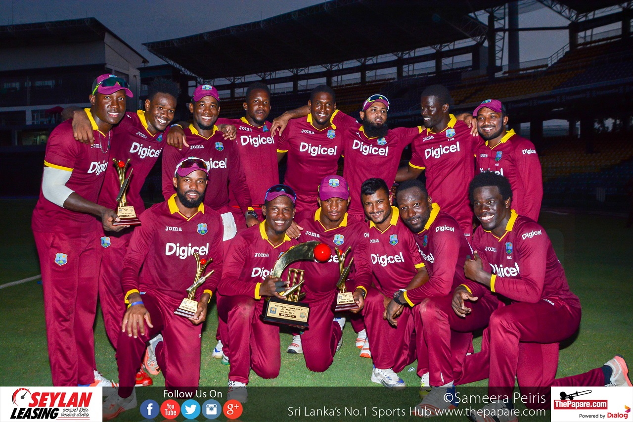 Sri Lanka vs West Indies, Unofficial Third One Day Match, October 30, 2016