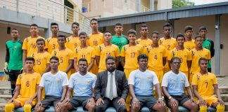 Sri Lanka Under 15 Boys' Football Team off to India