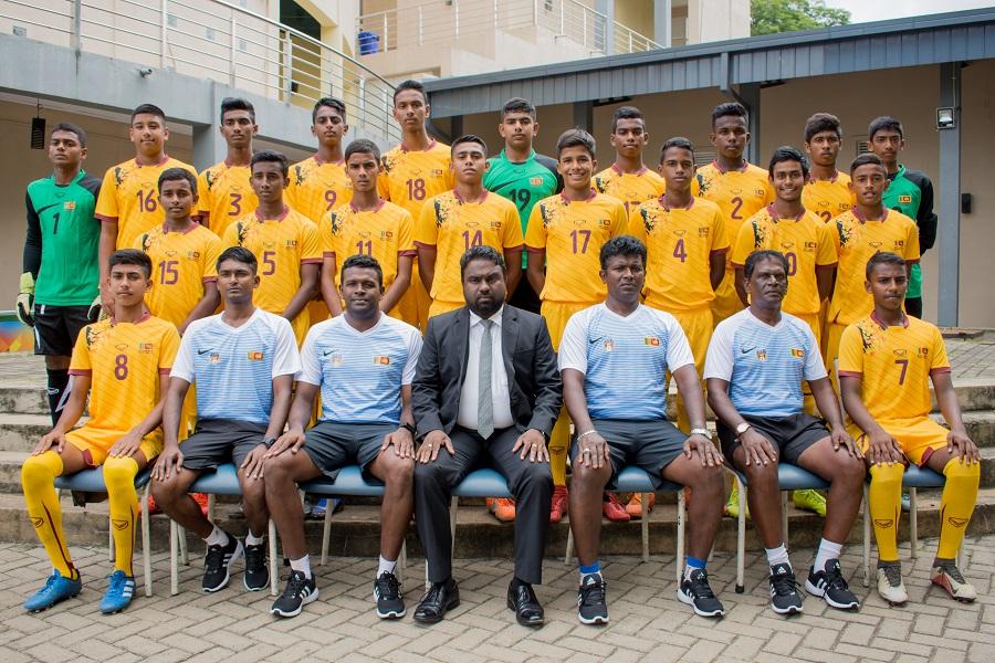 Sri Lanka Under 15 Boys' Football Team off to India