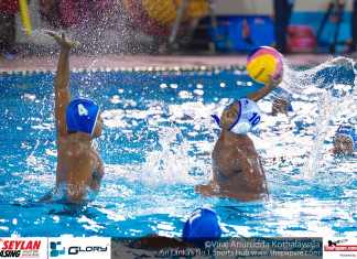 SAAC - India Win 1st Water polo