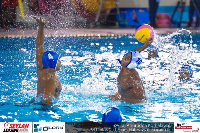SAAC - India Win 1st Water polo