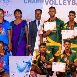 Galigamuwa Central & St. Xavier's DSI Volleyball U17 champions