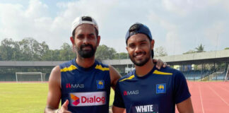 Dhananjaya de Silva and Lahiru Thirimanne