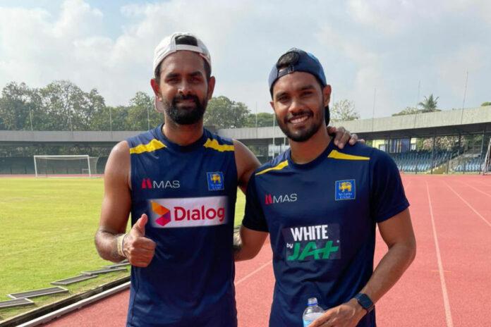 Dhananjaya de Silva and Lahiru Thirimanne