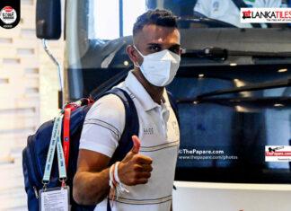 Sri Lanka Team Departure for Oman T20Is