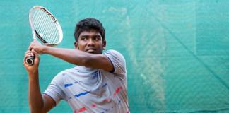 Nishangan Nadaraja for Davis Cup