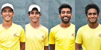 Sri Lanka field young Davis Cup team in Jordan