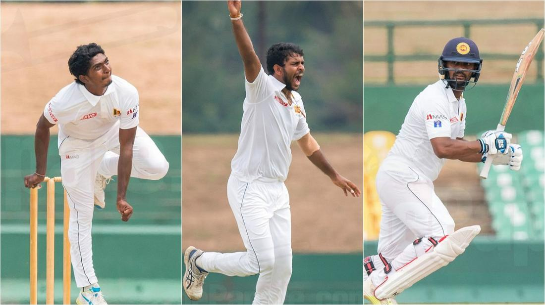 Madhushanka, Sandaken and Gunaratne hand SL A massive lead
