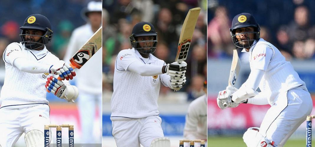 Silva, Mathews and Chandimal