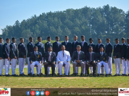 Dharmaraja College Cricket Team 2017