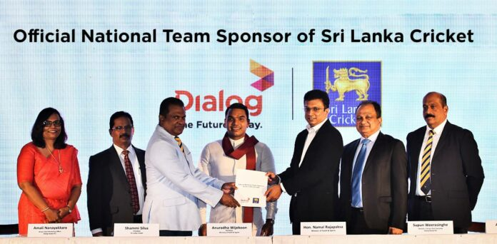 Dialog Axiata Continues to Power Sri Lanka Cricket