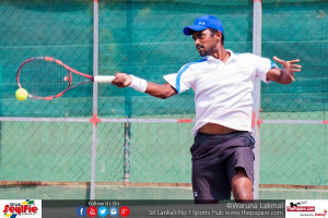 Sri Lanka's Dineshkanthan did not find his luck against Karunday Singh