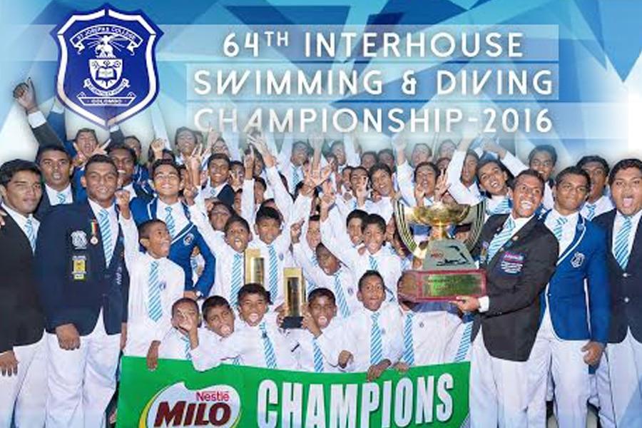 SJC swimming and diving 2016 championship