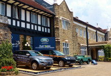 Dynamic Range Rover Sport and the all-new Discovery Sport featured at the Hill Club Tennis Tournament