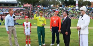 England's white-ball tour of South Africa