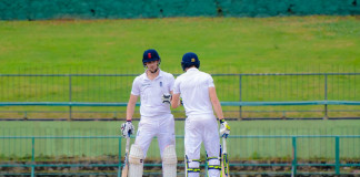 SL A vs ENG LIONS - 2nd Match - Day 1