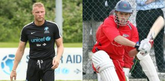 England Cricketer Flintoff on Phil Neville