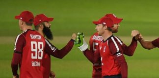 England fined for slow over-rate in first T20I against Australia