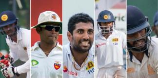 Sri Lanka Test squad to England