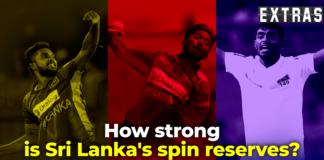 Extras - Sri Lanka's spin stock