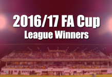 FA Cup 2016/17 League winners