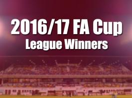 FA Cup 2016/17 League winners