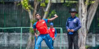 LC inter district cricket Vavniya v Kilinochchi