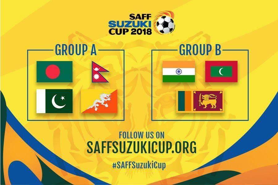 Sri Lanka in Group B for SAFF Championship