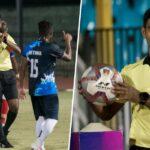 Referee Irshad Farook
