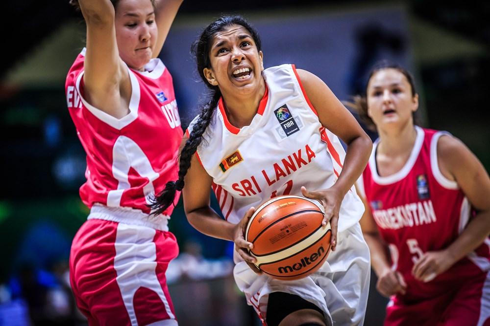 FIBA Asia Uzb v SL